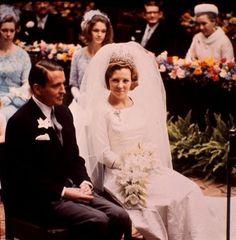 prinses Beatrix met Prins Claus........The Netherlands
