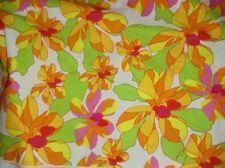 """Marimekko Palma Cotton Fabric 1 Yd. L 57"""" W Erja Hirvi 2007 NEW"""