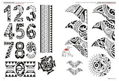 Maori Tattoo Flash Dibujofvs Tatuajes  Ecro