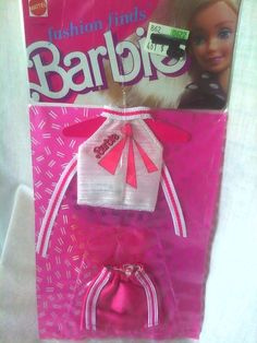 1988 Fashion Finds Barbie Doll Outfit New NRFP | eBay