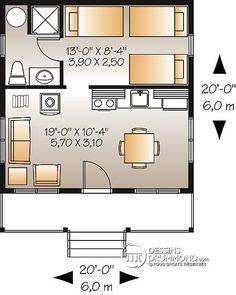 Détail du plan de Maison unifamiliale W1903