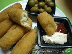 Croquetitas de pollo y papa Paraguay Food, Foods, Drink, Cooking, Breakfast, Ethnic Recipes, Blog, Potato Hash, Recipes With Chicken