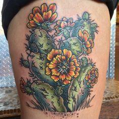 desert cactus tattoo - Google Search