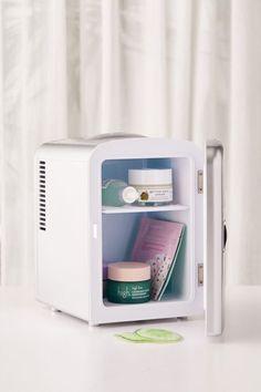 Mini Refrigerator | Urban Outfitters Refrigerator Cooler, Mini Fridge, Dorm Fridge, Mini Washing Machine, Fridge Shelves, Beauty Sponge, Quality Kitchens, Cubicle, Polyurethane Foam