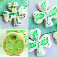 To celebration St. Patrick's Day I baked some decorative Shamrock Sugar Cookies. In addition to honouring Saint Patrick on March 17th, this day has evolved into a wonderful celebration of Irish culture and delicious food.