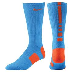 nike elite blue and orange..... perfect for basketball