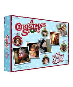 Love this so much I ordered it for everyone! A Christmas story game.....that I am sure will lead to a drinking game!