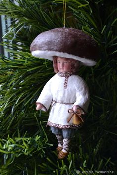 Buy Cotton Christmas toy Fungus on Livemaster online shop
