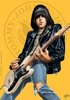 Ramones Illustration