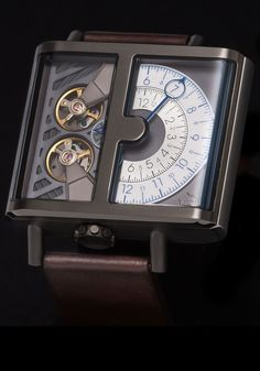 Xeric Watches - Xeric Soloscope Automatic Gunmetal Limited Edition, $425.00 (http://www.xeric.com/soloscope-automatic-gunmetal/)