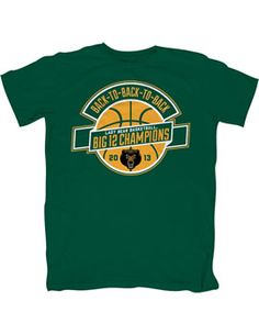 #Baylor Lady Bears: Back-to-Back-to-Back Big 12 Champions! (t-shirt from Baylor Bookstore) #sicem
