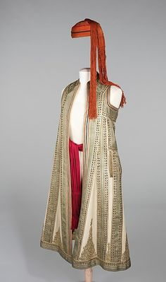 Ensemble (image 1) | Albanian | fourth quarter 19th century |  wool, silk, cotton, metal | Brooklyn Museum Costume Collection at The Metropolitan Museum of Art | Accession Number: 2009.300.651a–c