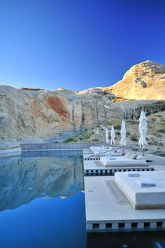 "The ultimate in a a romantic luxury getaway in Utah: ""Amangiri Luxury Resort is an enclave of luxury and style in Utah."