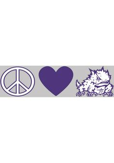 TCU Horned Frogs Auto Decal