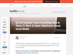 The 25 Best Social Media SlideShares #socialmedia #slideshares https://portagemma.com/55p