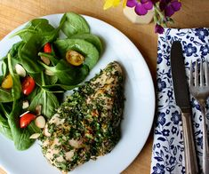 21 Day Fix Approved Herb Chicken (1 Red) // 21 Day Fix // fitness // fitspo // workout // motivation // exercise // Meal Prep // diet // nutrition // Inspiration // fitfood // fitfam // clean eating // recipe // recipes