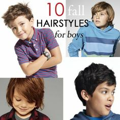 10 Fall Hairstyles For Boys