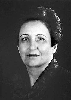 """Shirin Ebadi, The Nobel Peace Prize Born: 21 June Hamadan, Iran, Residence at the time of the award: Iran, Prize motivation: """"for her efforts for democracy and human rights. She has focused especially on the struggle for the rights of women and children. Democracy And Human Rights, Human Rights Activists, Great Women, Amazing Women, Brave, Nobel Prize Winners, Iranian Women, Nobel Peace Prize, Badass Women"""