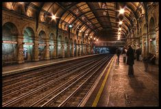 Notting Hill tube station, London