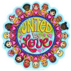 United by Love Coloring Art by Thaneeya McArdle