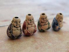 20 Tiny Mixed Buddha Beads by TheCraftyBead on Etsy, $15.95