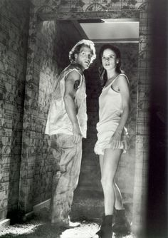 Woody Harrelson and Juliette Lewis