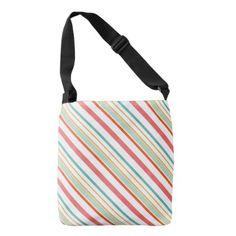 #stripes - #Diagonal stripe pattern crossbody bag