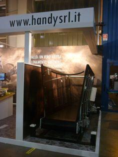 Il nostro stand e i nostri prodotti... tapis roulant.
