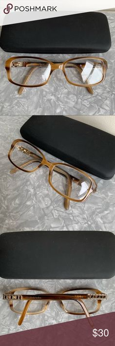 008be4045a Elizabeth Arden Eyeglasses Frames    sold As frames only. Replace with your  own