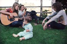 """David Crosby & Eric Clapton, Listening To Joni Mitchell Play Guitar At """"Mama"""" Cass's Laurel Canyon Home, 1968"""