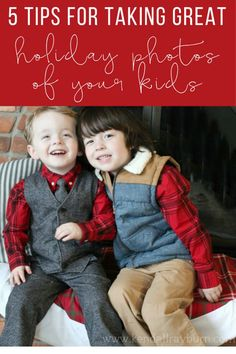 5 Tips for Taking Great Holiday Photos of Your Kids! [ad] /gymboree/ #OneBigHappy