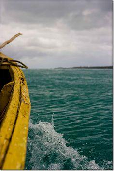 Boat Ride to Manono Island, Samoa