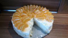 Manderijn yoghurt taart