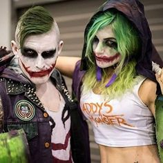 Today will be in honor to Heath Ledger to who we lost 8 years ago RIP Heath his Joker was one of the best & I will post only Joker cosplays for the rest of today Models: @wickedm6 @geeksguildofficial #darknight #jokercosplay #cosplayer #cosplayers #cosplaying #cosplaygirl #cosplaylife #cosplaymakeup #cosplayphotography #cosplayersofinstagram #cosplaymodel