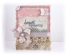 created by Teresa Kline http://paperieblooms.blogspot.com/2013/05/verve-new-release-deepest-sympathy.html using Verve Stamps http://shopverve.com/newproducts.html