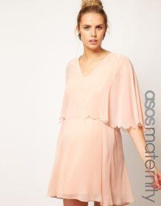 Asos Maternity Chiffon Dress <3