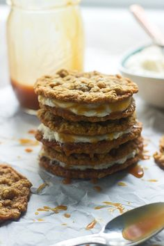 Homemade Salted Caramel Oatmeal Cream Pies Guaranteed to Satisfy Your Sweet Tooth
