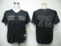 New York Yankees 24 Cano Black Cool Base Jerseys. MLB Yankees #72 Dellin  Betances ...