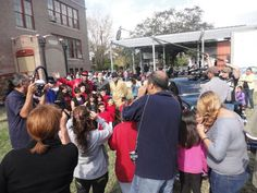 Pancho Claus CHRISTMAS eve needy families toy giveaway and luncheon