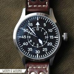 Steinhart's Nav B-Uhr II B-Type Steinhart Watches mens luxury watch. steinhart #divers #marine #aviation pilots chronographs @calibrelondon