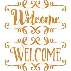 Burton Avenue: Freebie Friday - Welcome