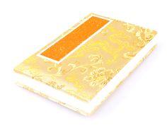Accordion Fold Brush Painting Album | Golden Brocade Dragon $12.99 #Brushpainting #AsianArt #Chinese