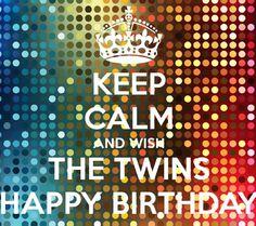 tweeling jarig Tweeling jarig | ja| Pinterest | Happy birthday tweeling jarig