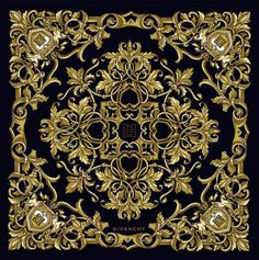 Givenchy baroque printed Scarf
