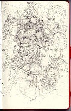 ArtStation - Dwarf, Filipe Pagliuso