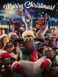 Image result for shaun the sheep in the christmas
