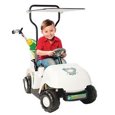National Products Jr. Pro Golf Cart Ride-On