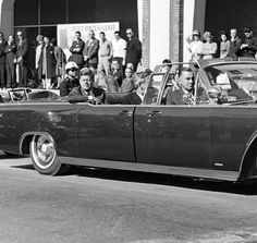 JFK Assassination Footage | Here's another somewhat rare view of JFK's car as it travelled