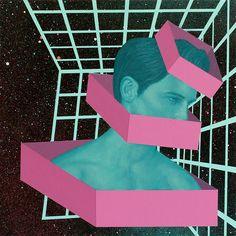 Psychedelic Portraits by Johnie Thornton – Fubiz Media