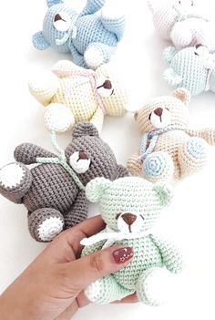 crochet amigurumi free patterns Amazing Beauty Amigurumi Doll and Animal Pattern Ideas Crochet Easter, Crochet Teddy, Cute Crochet, Crochet Dolls, Easy Crochet, Crochet Amigurumi Free Patterns, Crochet Animal Patterns, Stuffed Animal Patterns, Crochet Animals
